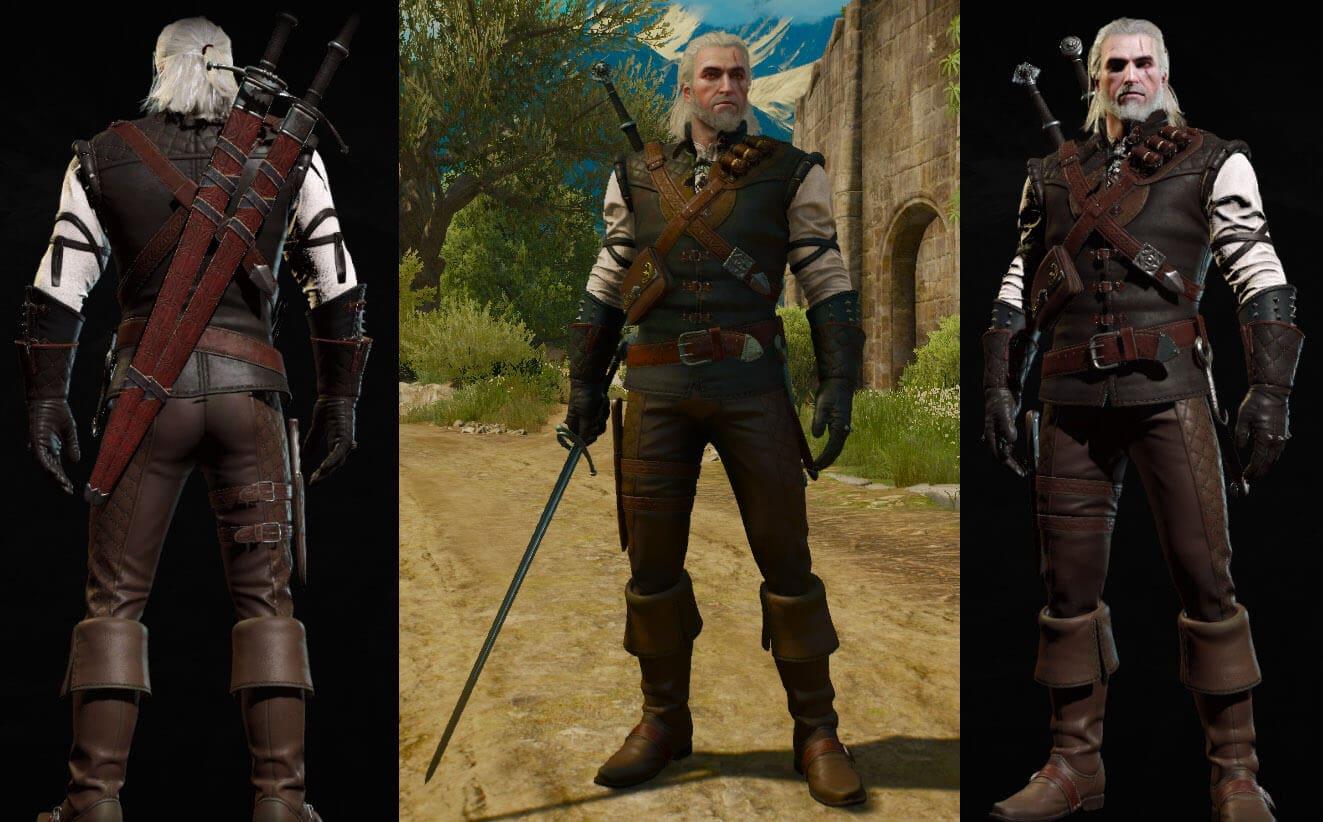 Where in Witcher3: BW secret secret uniforms are hidden 99