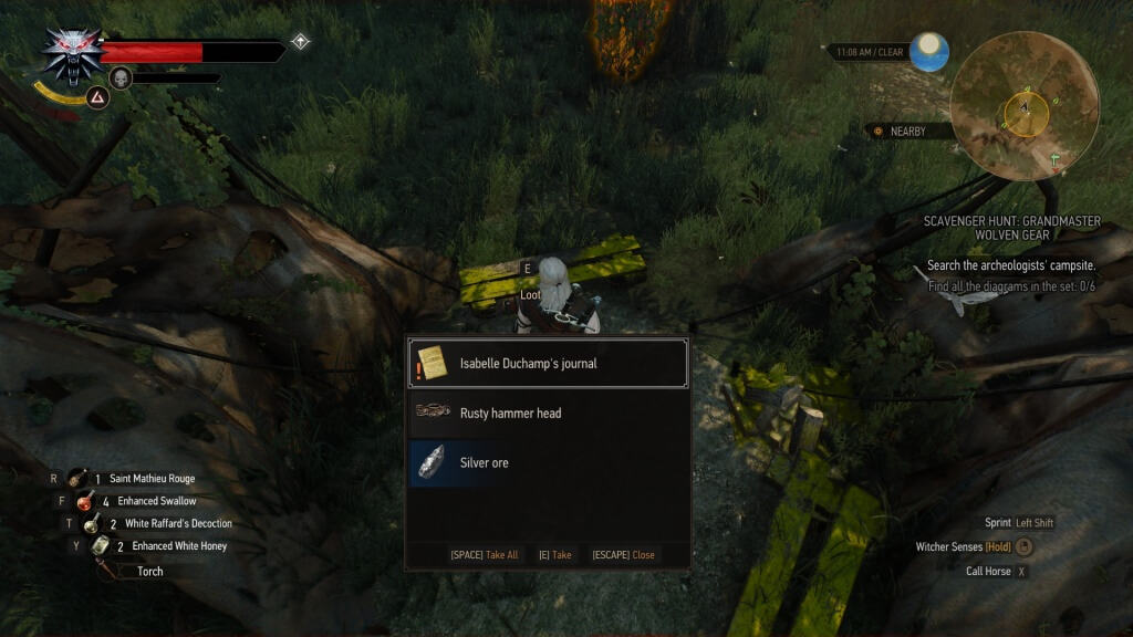 grandmaster wolven gear quest