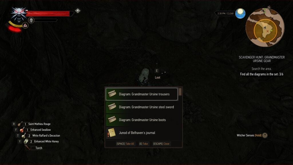 grandmaster ursine gear quest